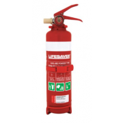 LIFESAVER 1KG FIRE EXTINGUISHER