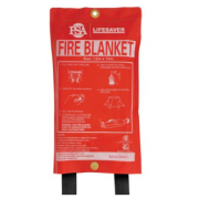 LIFESAVER 1.8M X 1.2M FIRE BLANKET