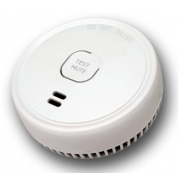 LIFESAVER 9V BATTERY POWERED PHOTOELECTRIC SMOKE ALARM