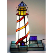 LIGHTHOUSE LEADLIGHT TABLE LAMP