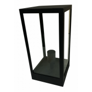 LONDON MATT BLACK EXTERIOR PILLAR MOUNT