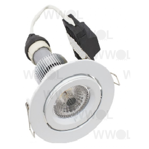 LUMEN 9W GIMBAL LED WHITE NATURAL WHITE