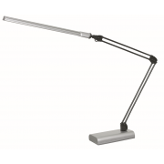 LUX FLEX 4 WATT LED DESK LAMP SILVER
