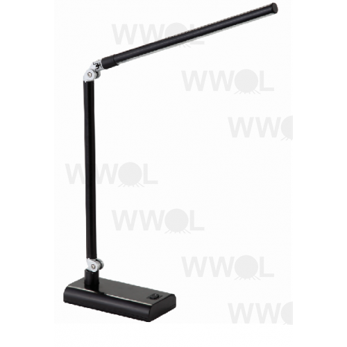 LUX REACH 4 WATT LED DESK LAMP BLACK