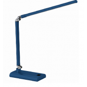 LUX REACH 4 WATT LED DESK LAMP BLUE
