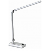 LUX REACH 4 WATT LED DESK LAMP SILVER
