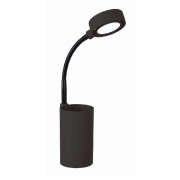 LUX STUDY 3 WATT LED DESK LAMP BLACK