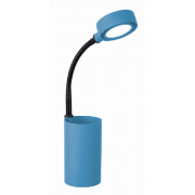 LUX STUDY 3 WATT LED DESK LAMP BLUE