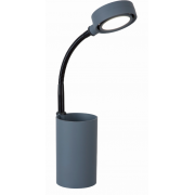 LUX STUDY 3 WATT LED DESK LAMP GREY