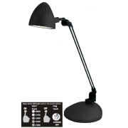 LUX TASK 5.4 WATT LED DESK LAMP BLACK