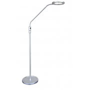 LUX ZOOM 5.4 WATT LED FLOOR LAMP SILVER