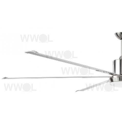dc 6 blade 84 inch ceiling fan and light incl remote