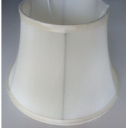 MASON AND FINCH WAISTED DRUM BEIGE LAMP SHADE 175(T) X 300(B) X 200(H)