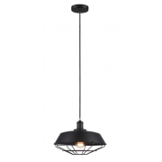 BARN HOUSE BLACK 1 LIGHT PENDANT