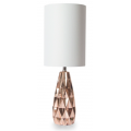 SHINING ROSE GOLD 56CM TABLE LAMP