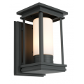 MODERN BLACK EXTERIOR WALL COACH LIGHT