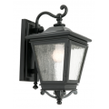 TRADITIONAL EXTERIOR COACH BLACK WALL LIGHT