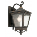 TRADITIONAL EXTERIOR COACH BRONZE WALL LIGHT