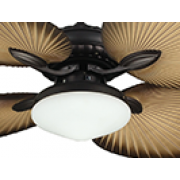 ST TROPEZ FAN LIGHT OLD BRONZE