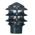 PAGODA POST TOP HEAD BLACK