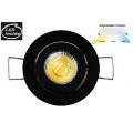 3 WATT LED TRI COLOUR MINI NICHE GIMBAL BLACK DOWN LIGHT