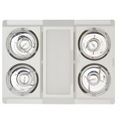 PROFILE PANEL LED TRI COLOUR 4 HEAT FAN LIGHT WHITE COMBO