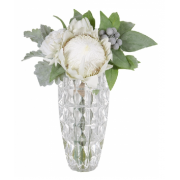 Protea Rose Dus Mill in Vase
