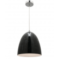 DOME BLACK MARBLE PENDANT