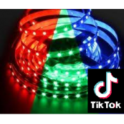 TIK TOK 5 METER LED RGBW COLOUR CHANGING RIBBON PACK