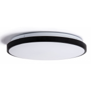 RIDDICK 30 WATT TRI COLOUR LED MATT BLACK SURFACE MOUNT