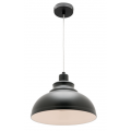 MINI DOME BLACK INDUSTRIAL PENDANT