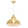 MINI DOME BRUSHED BRASS INDUSTRIAL PENDANT