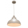 MINI DOME SATIN CHROME INDUSTRIAL PENDANT