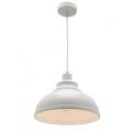 MINI DOME WHITE INDUSTRIAL PENDANT