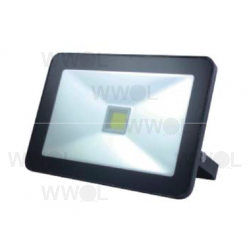 RIVA 50W LED SLIM FLOOD LIGHT BLACK