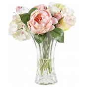 Rose Hydrangea Bouquet in Vase