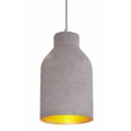 ROUNDED CONICAL CONCRETE PENDANT
