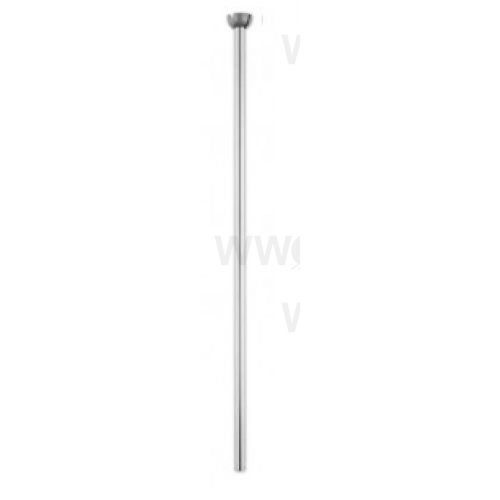 900MM CEILING FAN EXTENSION ROD SATIN CHROME