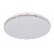 SIMMONS 18 WATT TRI COLOUR LED CHROME SURFACE MOUNT