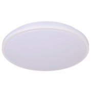 SIMMONS 18 WATT TRI COLOUR LED WHITE SURFACE MOUNT