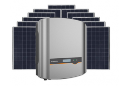 6.6KW DUAL MPPT PV GRID CONNECT INCL WIFI SOLAR SYSTEM