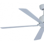 AIR ELITE DC WHITE 5 BLADE CEILING FAN INC REMOTE