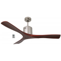 AIR SPAN 130CM DC SILVER ROSEWOOD CEILING FAN INC REMOTE