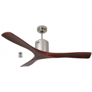 AIR SPAN DC SILVER ROSEWOOD CEILING FAN INC REMOTE