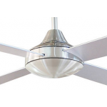 AIR SYNERGY 120CM BRUSHED CHROME CEILING FAN