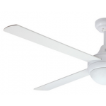 AIR SYNERGY 120CM WHITE CEILING FAN LIGHT REMOTE PACKAGE