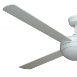 AIR FLIGHT 130CM WHITE WITH LED LIGHT CEILING FAN