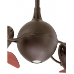 ACQUA TEXTURED BRONZE INCL HARDWOOD BLADES CEILING FAN AND LIGHT