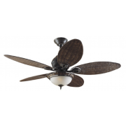 CARIBBEAN BREEZE BRONZE INCL WICKER BLADES I LIGHT CEILING FAN