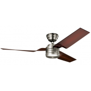 FLIGHT BRUSHED NICKEL CEILING FAN